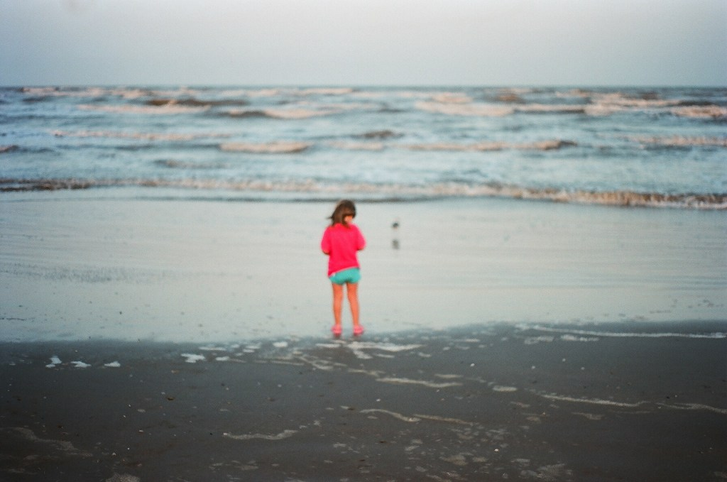 Beach film photography