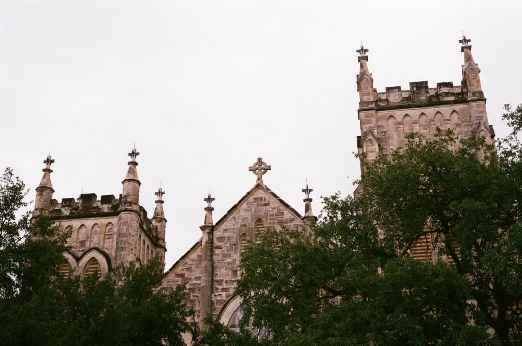 San Antonio church film photography