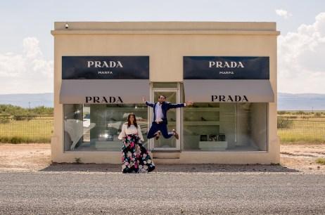 Sara & Gursimran: Marfa, Texas, Love Story Videography | Engagement Photography