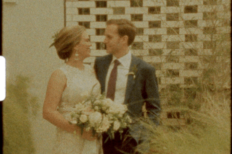 Jane + Jared's Super 8mm Wedding Highlight Film