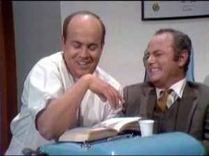 You'll love this site it... You always looked forward to watching The Carol Burnett Show to see Harvey Korman crack up.