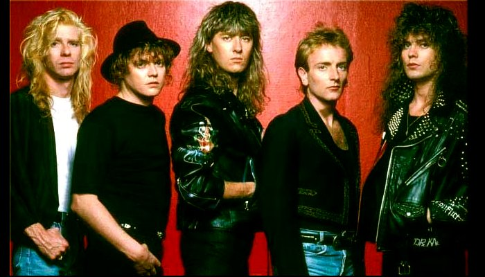 Def Leppard group shot