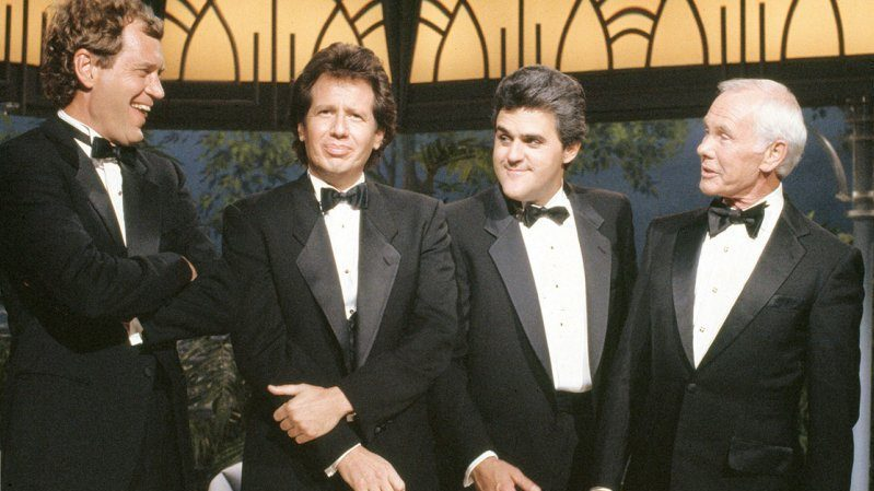 Wheeeere's Johnny? Late-Night TV Could Definitely Use A Host Like You! (The Tonight Show - with David Letterman, Jay Leno, Garry Shandling/Larry Sanders, Johnny Carson)