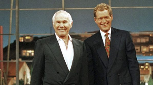 Wheeeere's Johnny? Late-Night TV Could Definitely Use A Host Like You! (Late Show with David Letterman, Johnny Carson surprise guest - final TV appearance)