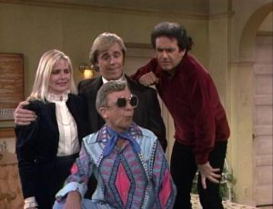 Three's Company Episode: Star Struck (soap star, Furley in sunglasses)