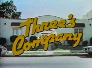 Three's Company series pilot opening logo
