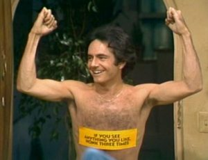 Three's Company Episode: Eleanor's Return (Larry streaking)