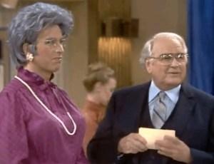 Three's Company episodes: Jack Tripper as Grandma Jack