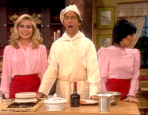 Three's Company Episode: And Now Here's Jack (live cooking show)