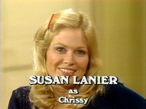Three's Company Pilot: Susan Lanier as Chrissy