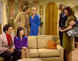 Three's Company Episode: The Odd Couples (Larry, Janet aka Pierre and Fifi the French married couple)