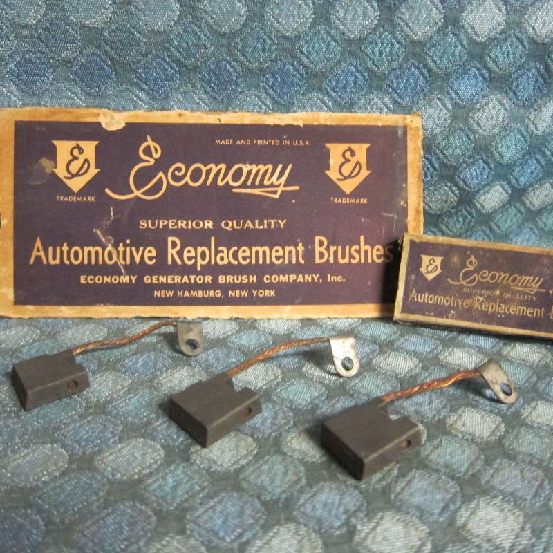 1929-35 Auburn Cadillac Franklin Pierce-Arrow Generator Brush Set 30 31 32 33 34