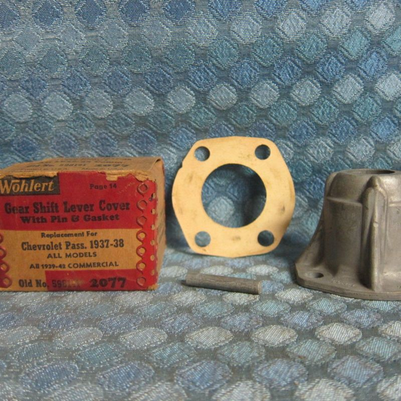 1937-39 Chevrolet 40-47 Truck NORS Trans Gear Shift Lever Cover w/Pin 38 41 46
