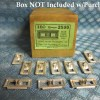 1955 Dodge Plymouth NORS Body Belt Moulding Fasteners Lot of 10, See Detailed Ad