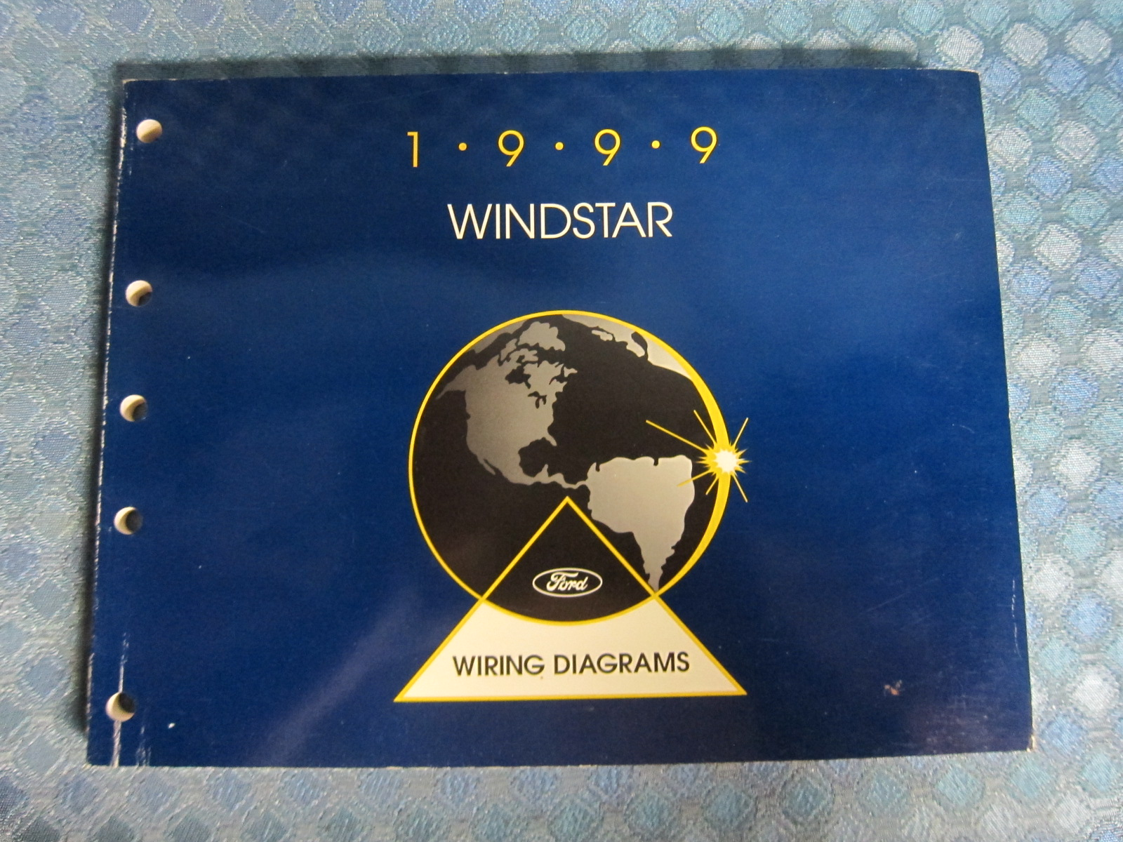 1999 Ford Windstar Original Oem Wiring Diagrams Manual - Nos Texas Parts  Llc