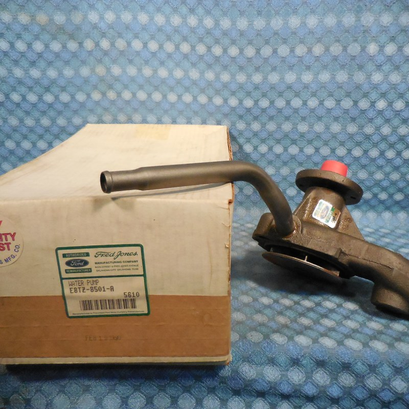 1987-92 Ford Truck E & F100-350 300 6 Cyl NORS Water Pump 88 90 91 # E8TZ-8501-A