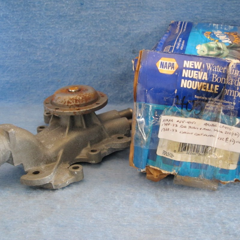 1988 89 90 91 92 92 Lincoln Mercury Ford V6 Water Pump
