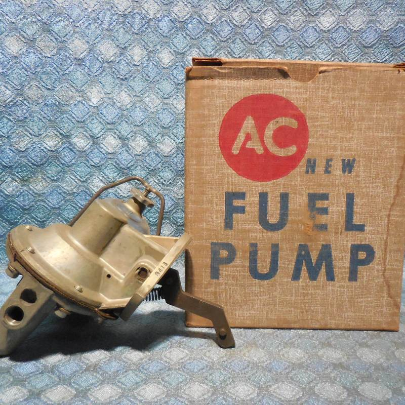 1950-55 Nash Hudson Rambler Statesman NORS Fuel Pump w/ Glass Bowl 51 52 53 54