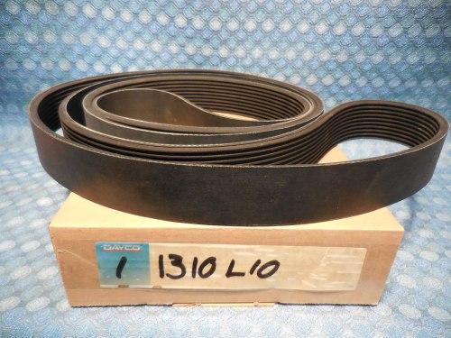 "Dayco Poly Rib Serpentine Belt 10 Rib 1-7/8"" Wide 131"" Long #1310L10"