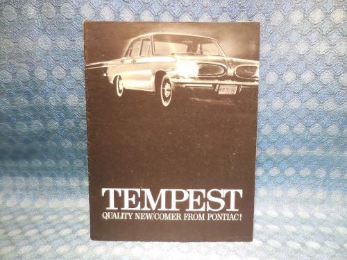 1961 Pontiac Tempest Original Sales Brochure