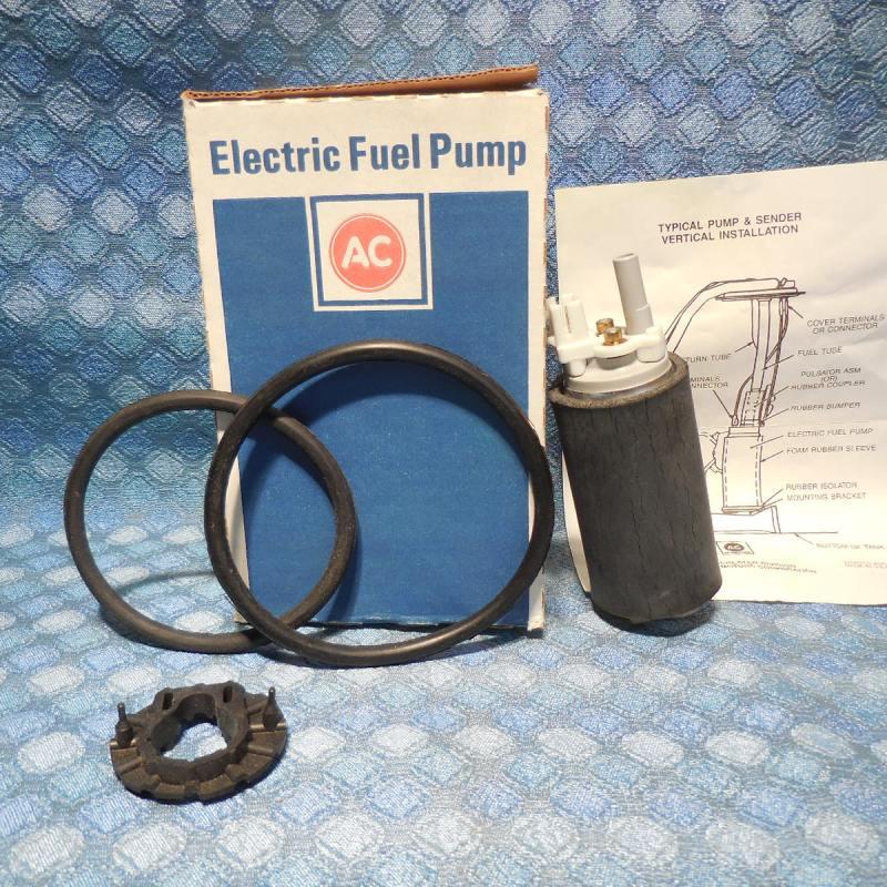1988-1991 Buick Oldsmobile Pontiac Chevrolet NOS AC Electric Fuel Pump # EP237