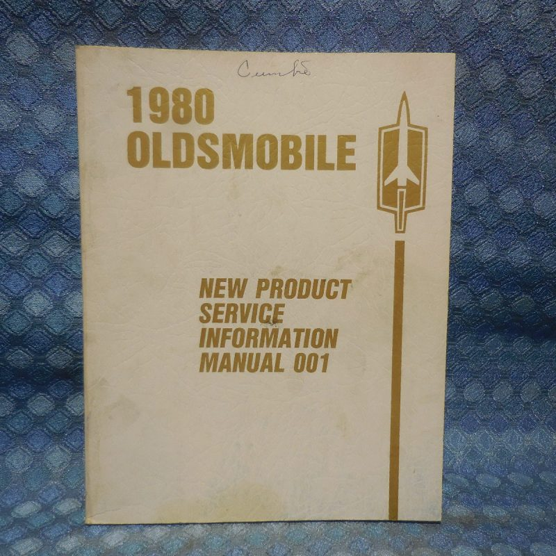 1980 Oldsmobile Original New Product Service Information Manual 88 98 Cutlass