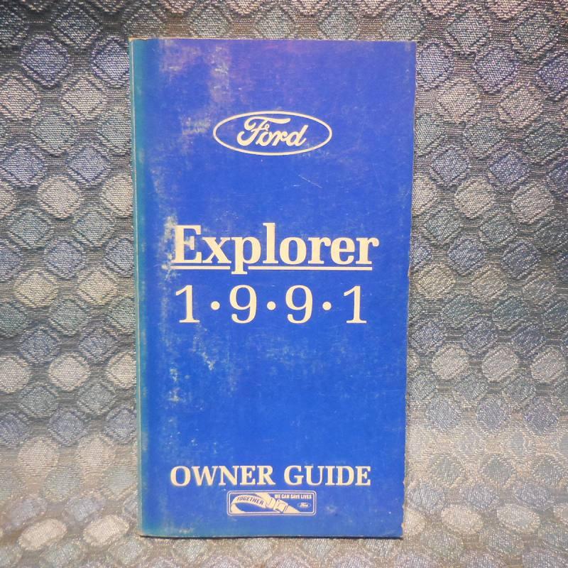 1991 Ford Ranger Original Owners Manual / Guide