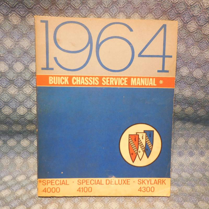 1964 Buick Special & Skylark Original Chassis Service Manual