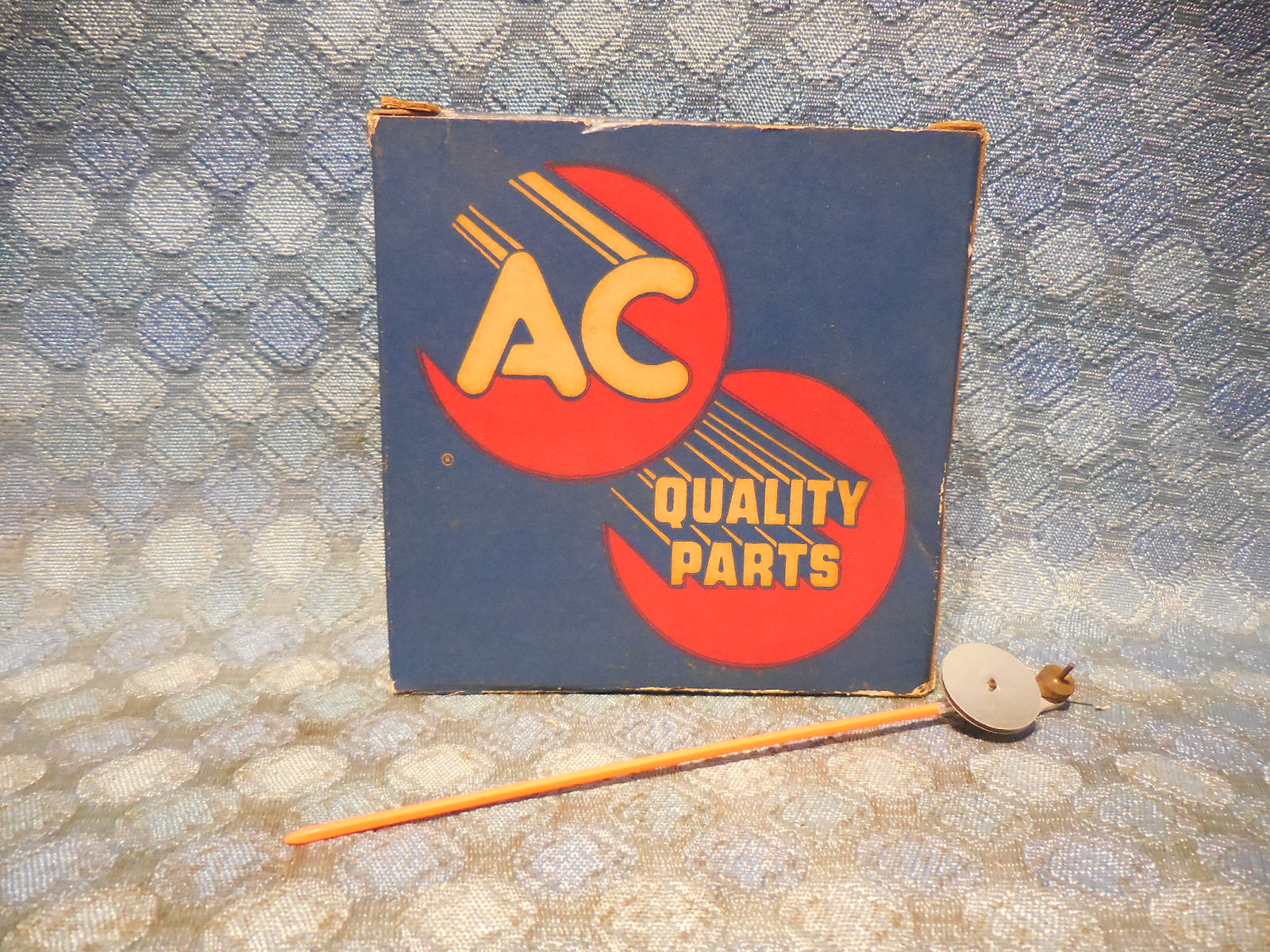 1960 Pontiac NOS AC Speedometer Pointer and Hair Spring Assembly #1588019  SEE AD - NOS Texas Parts, LLC - Antique Auto Parts