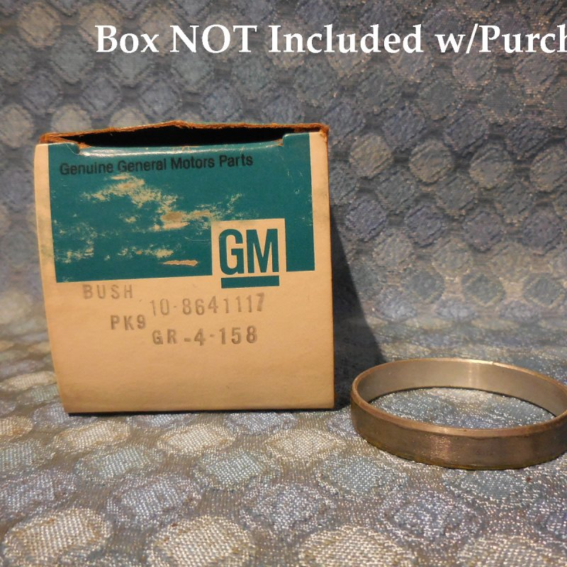 1980-1984 GM NOS THM350 Transmission Input Ring Gear Support Bushing #8641117