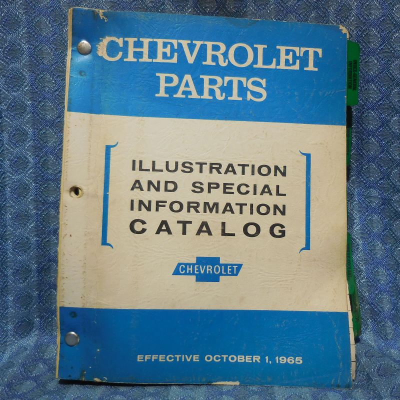 1954-1966 Chevrolet Original Illustration & Special Info Catalog 56 58 60 62 64