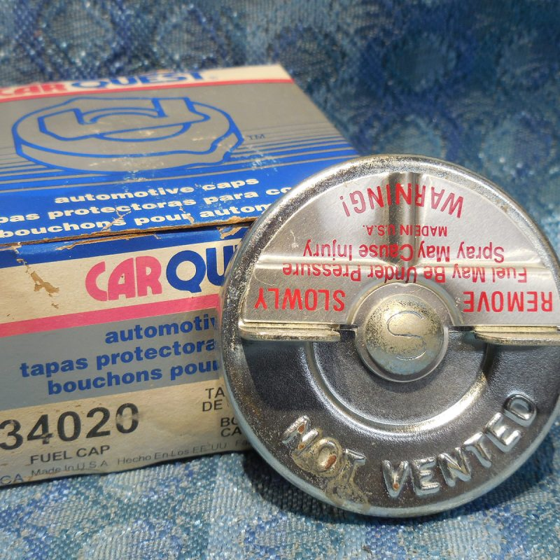 1968-73 VW 1972-85 Mazda 1972-77 Audi 1977-82 Luv NORS Gas Cap # 34020 (SEE AD)