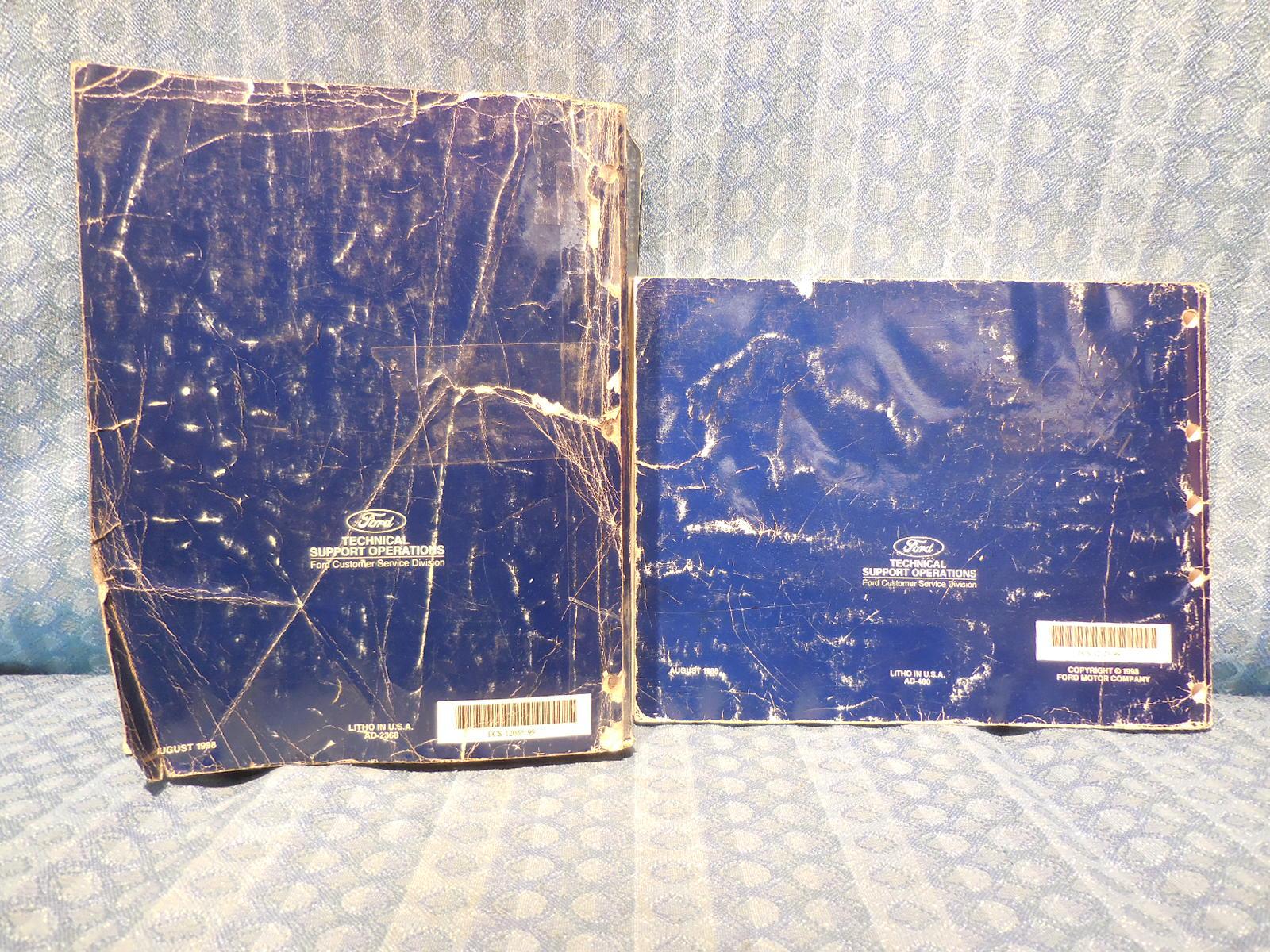 1999 Ford Taurus Mercury Sable OEM Original Shop / Service Manual 2 Volume  Set