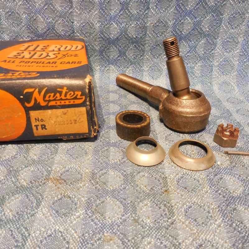 1939 Chevrolet Pass NORS L.H. Tie Rod End (Long) #TR295W (SEE DETAILED AD)
