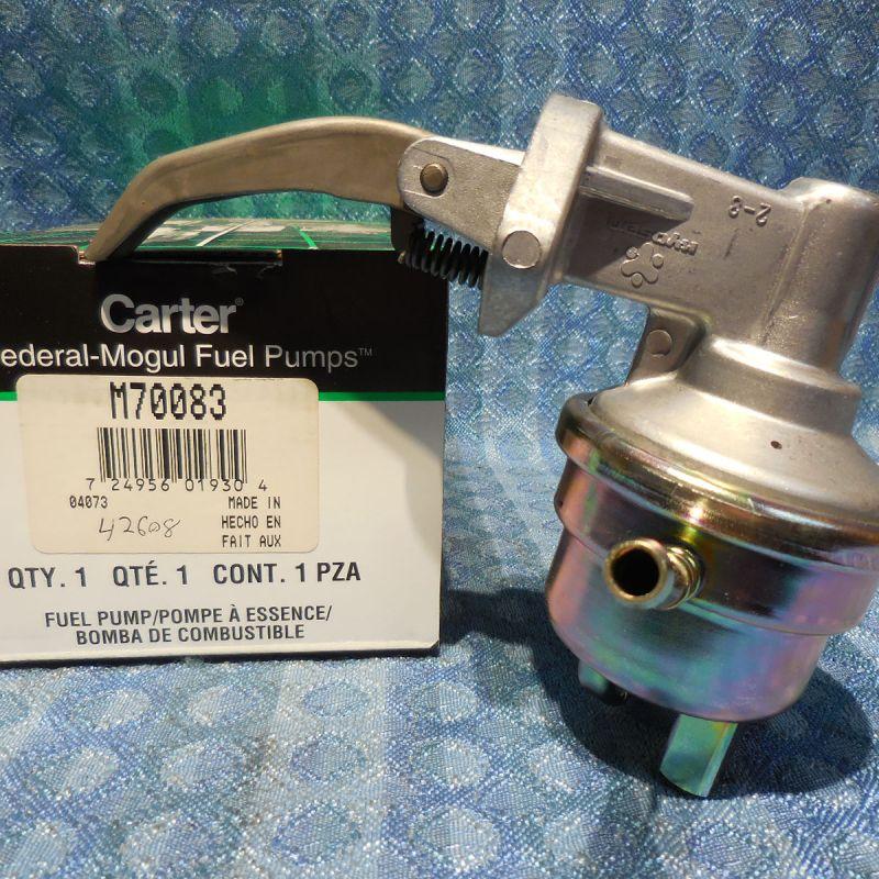 NEW Carter Fuel Pump #M70083 Fits 1984-1985 Mazda 626 2.0L 4 Cyl