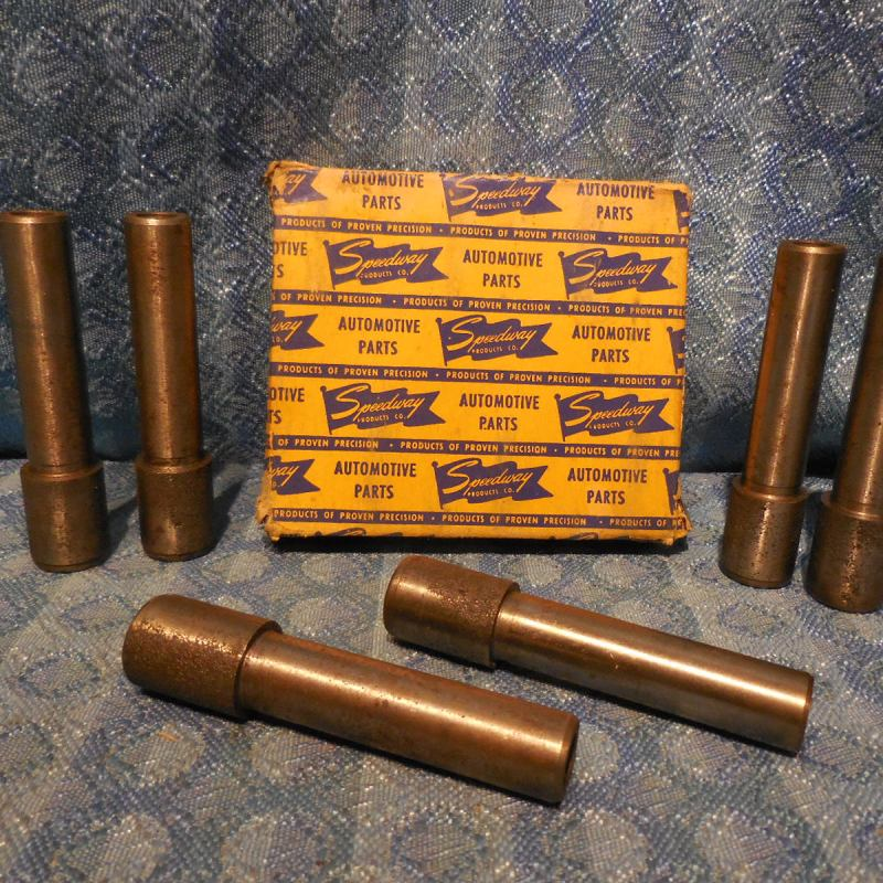 1935-36 Chevrolet NORS Inlet Valve Stem Guides Set of 6 #601371 SEE DETAILED AD