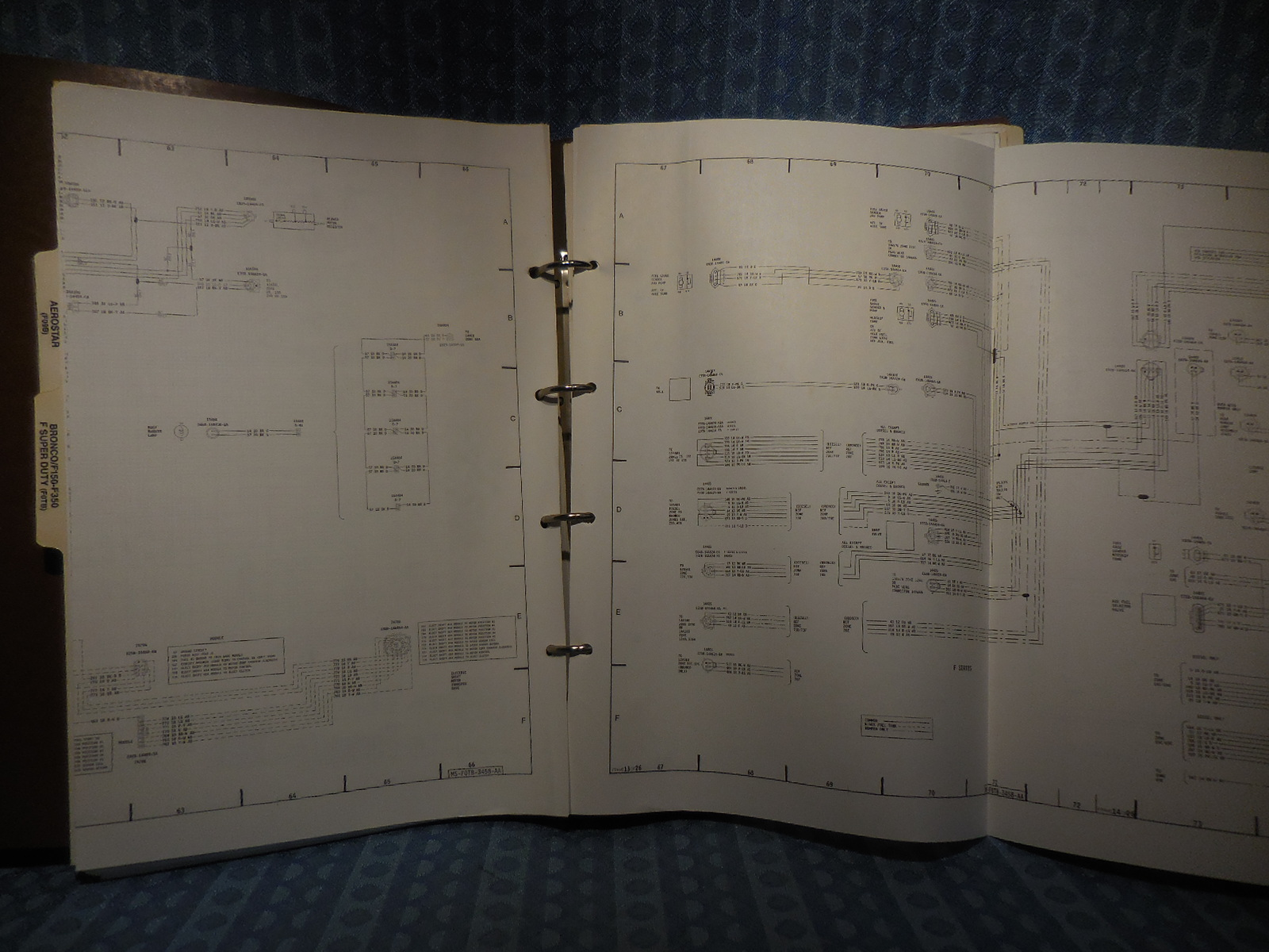 1990 Ford Truck Oem Wiring Diagrams F Series Econoline Bronco Cl 9000 L Series Nos Texas Parts Llc Antique Auto Parts