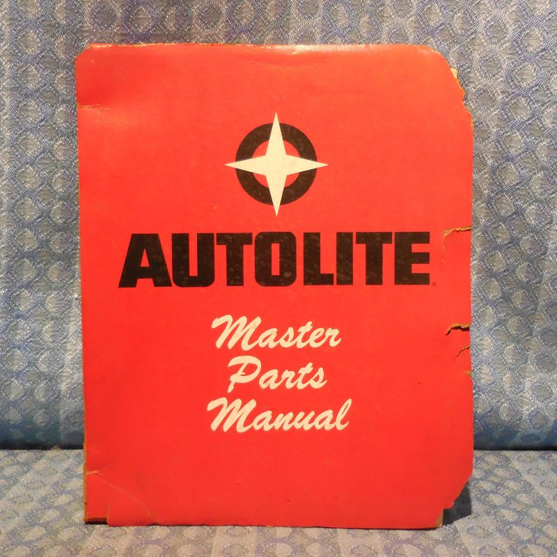1955-1963 Autolite Electrical Master Parts Manual Starter Generator Ford Mercury