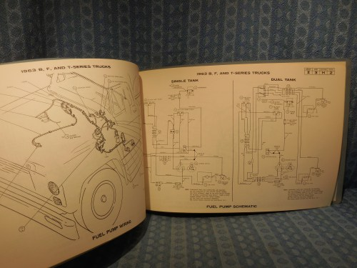 1963 Ford Lincoln Mercury Truck Original OEM Wiring Diagrams Manual  Pontiac Wiring Chart on 1963 pontiac exhaust system, 1963 pontiac interior, 1963 pontiac transaxle, 1963 pontiac quarter panels,