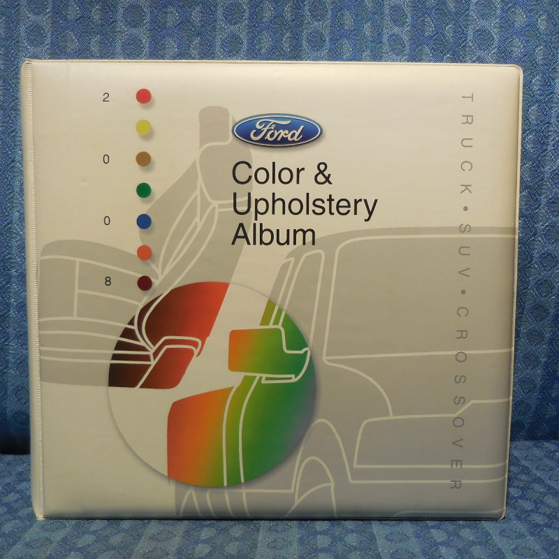 2008 Ford Truck SUV Crossover Original Dealer Color & Upholstery Album