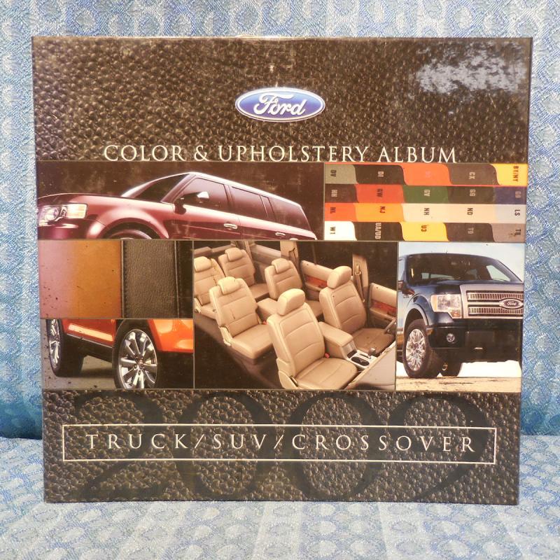 2009 Ford Truck / SUV / Crossover Original Dealer Color & Upholstery Album