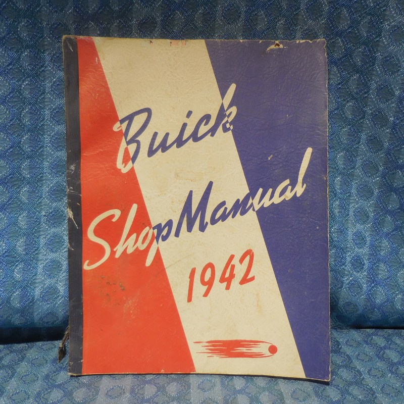 1942 Buick Original Shop Manual Service Repair