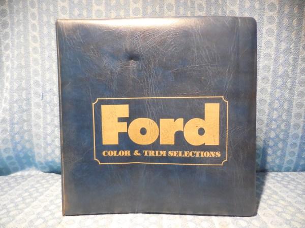 1979 Ford Car & Light Truck Dealer Color & Trim Album Mustang Bronco F150 T-Bird