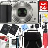 Nikon A900 20MP Longest Slim Zoom COOLPIX WiFi Digital Camera w/4K Video Bundle
