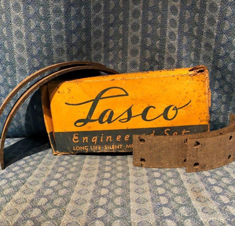 1946-1947 Dodge Pass & DeSoto Set of NORS Brake Linings #1161