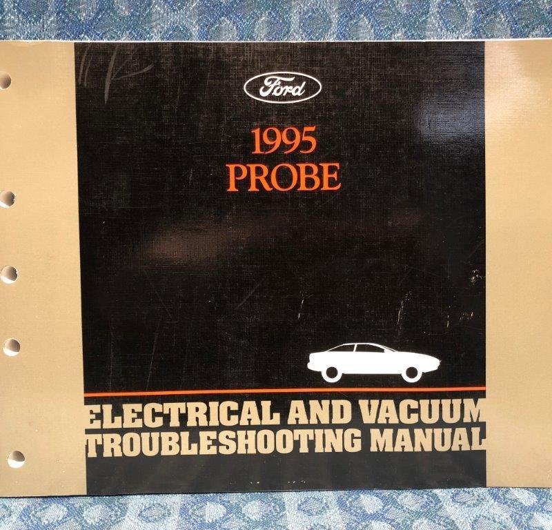 1995 Ford Probe OEM Electrical & Vacuum Troubleshooting Manual