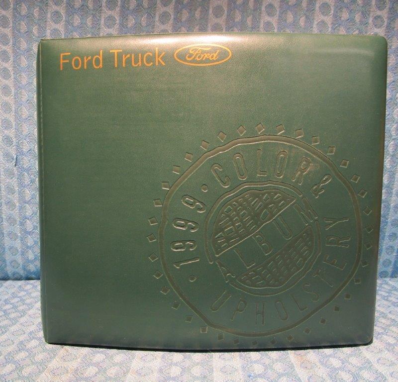 1999 Ford Truck Original Dealer Color & Upholstery Album F-150 to F-800