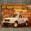 2001 Ford Truck XLT Sport Group F-150 Original Dealer Sales Card