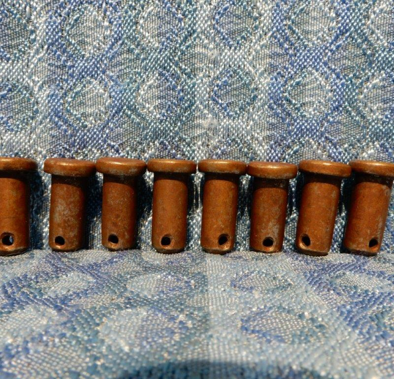 1928-1931 Ford Model A Set of 8 NORS Brake Shoe Roller Pins 1929 1930 #A-2045