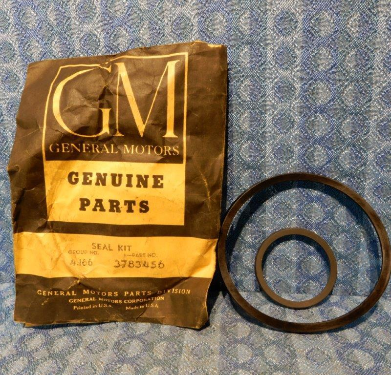1953-1961 Chevrolet Powerglide NOS Trans Clutch Seal Kit #3783456 Corvette 55 57